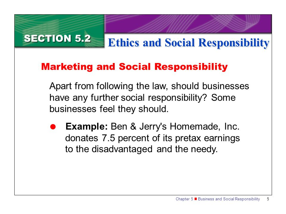 role of ethics and social responsibilty What is the meaning of ethical responsibility  and business for social responsibility  ethics and corporate social responsibility:.