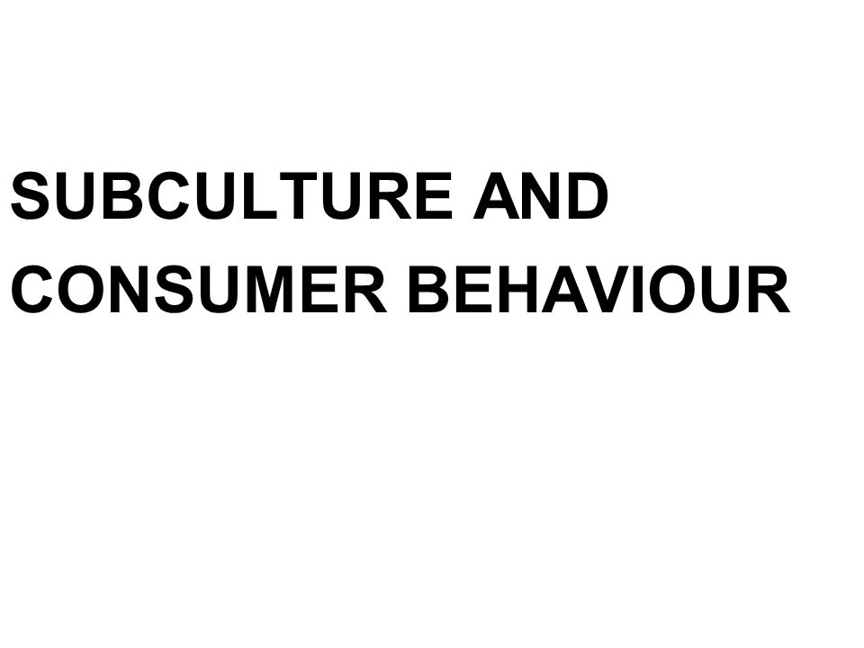 """describe and analyse a subculture with Analysis """"a subculture is a culture within a broader mainstream culture, with its own separate values, practices, and beliefs in sociology, the concept of subculture explains the behavior of some social groups sociologists study subcultures as one way of studying culture."""