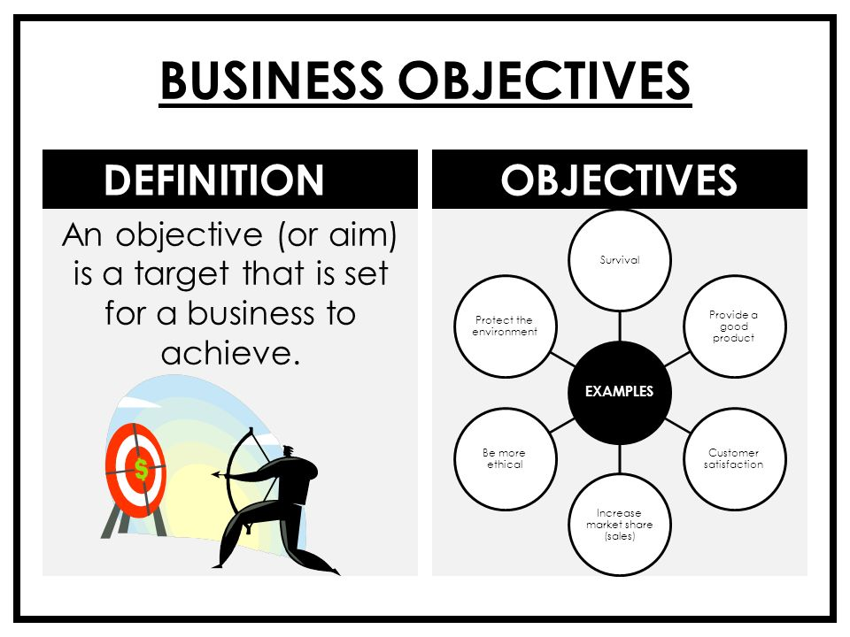 what is survival in business objectives Business book summaries provides the best summaries of the best business  their goals and objectives  that organizational survival in the new.