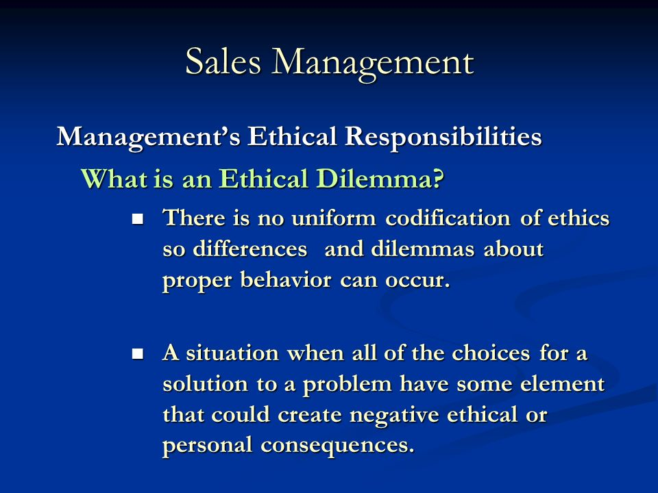 the role of ethics and social responsibilities in management Social responsibility and ethics are necessary to live and work in a way that accounts for the welfare of people and of the environment.