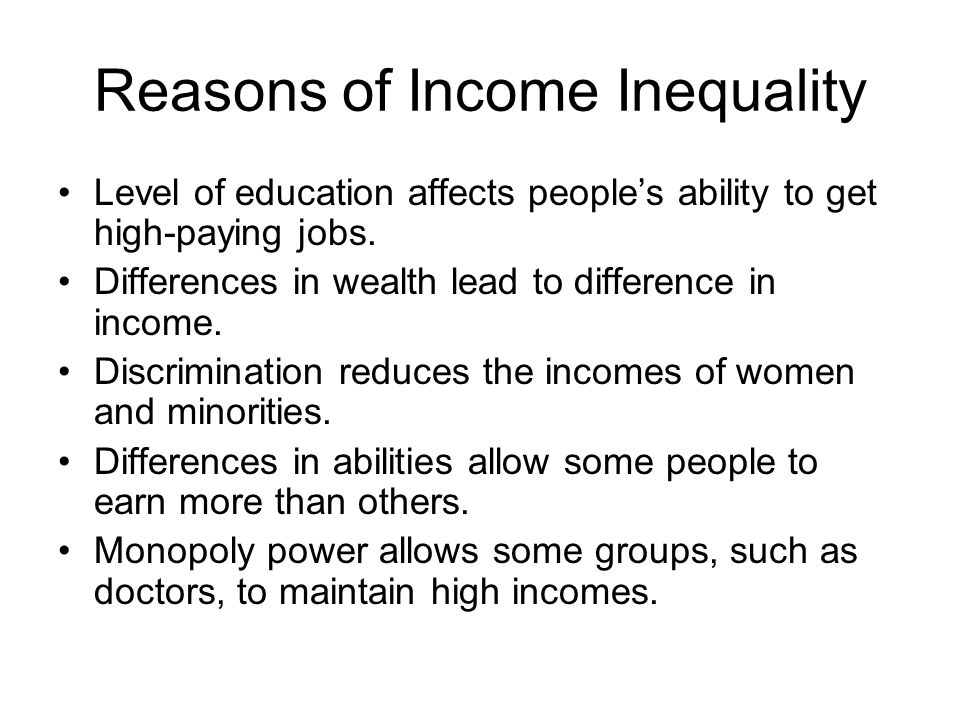 "the importance of having inequality of wealth concentration in the united states of america Inequality is one of the main drivers of social tension  starting with a perfectly  equal distribution of wealth, inequality quickly rises until a few  this causes very  low wealth to be a ""sticky"" state, in the sense that getting out of it is extremely  slow  in nature, the importance of repression of dominance (fig."