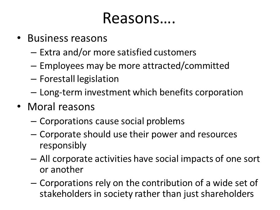 social responsibility of business towards shareholders pdf