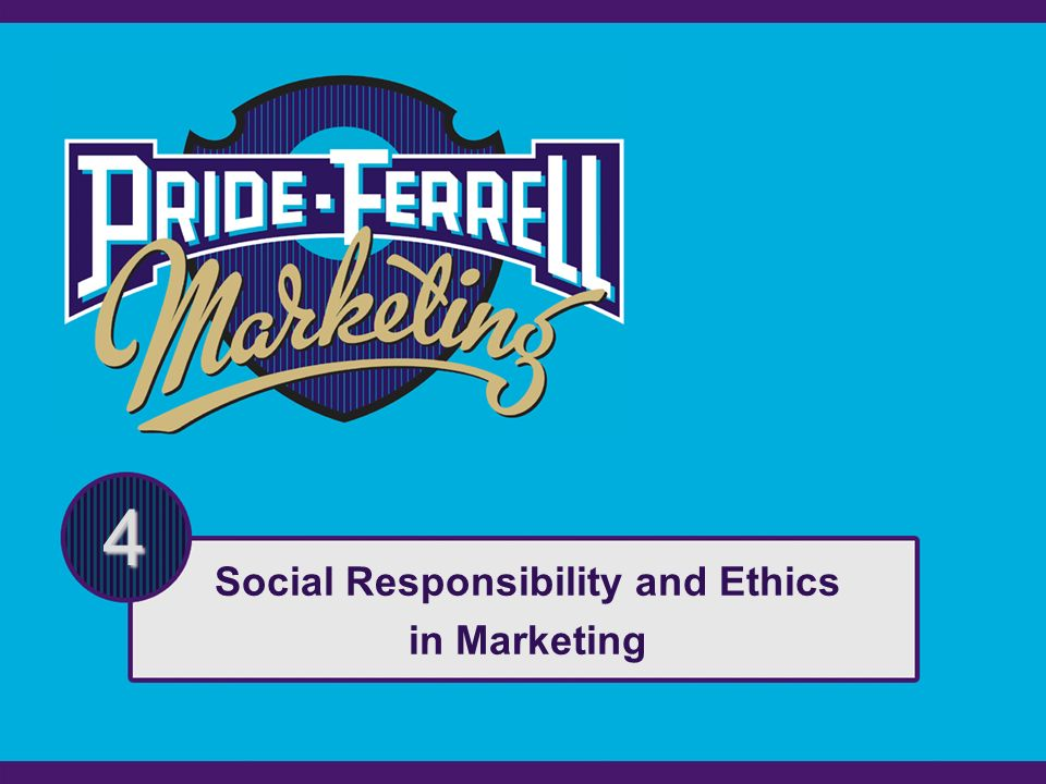 social responsibility in marketing Introduction to the principles of social marketing session aim: • to provide an overview of the key principles of social marketing learning outcomes.