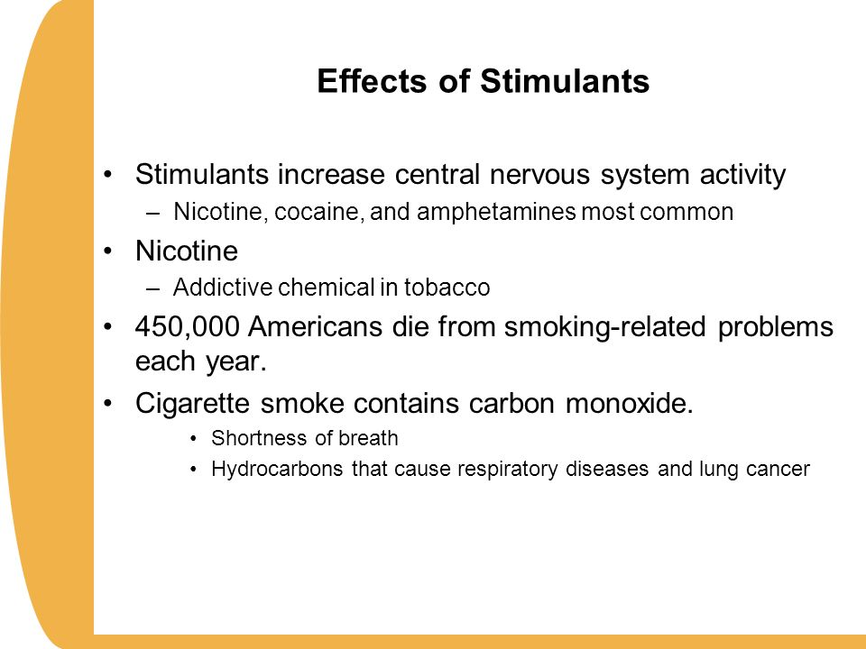 Effects Of Stimulants Early Adulthood: Physi...