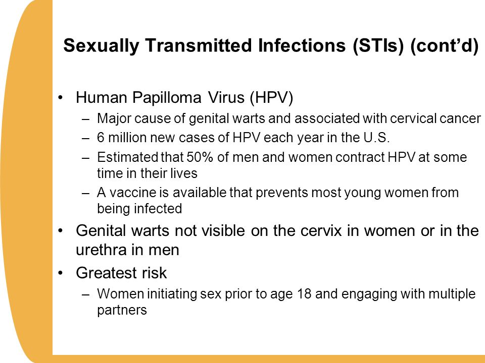 Vaccine For Sexually Transmitted Diseases