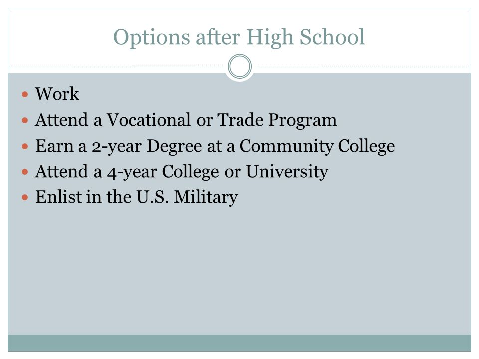 Online schooling options for high school