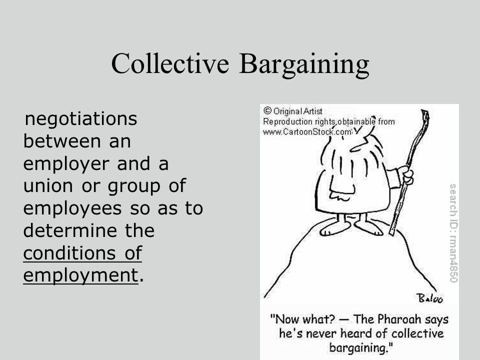 components of a collective bargaining agreement 1 define the term collective bargaining and list and describe four issues that are mandatory components of a collective bargaining agreement collective.