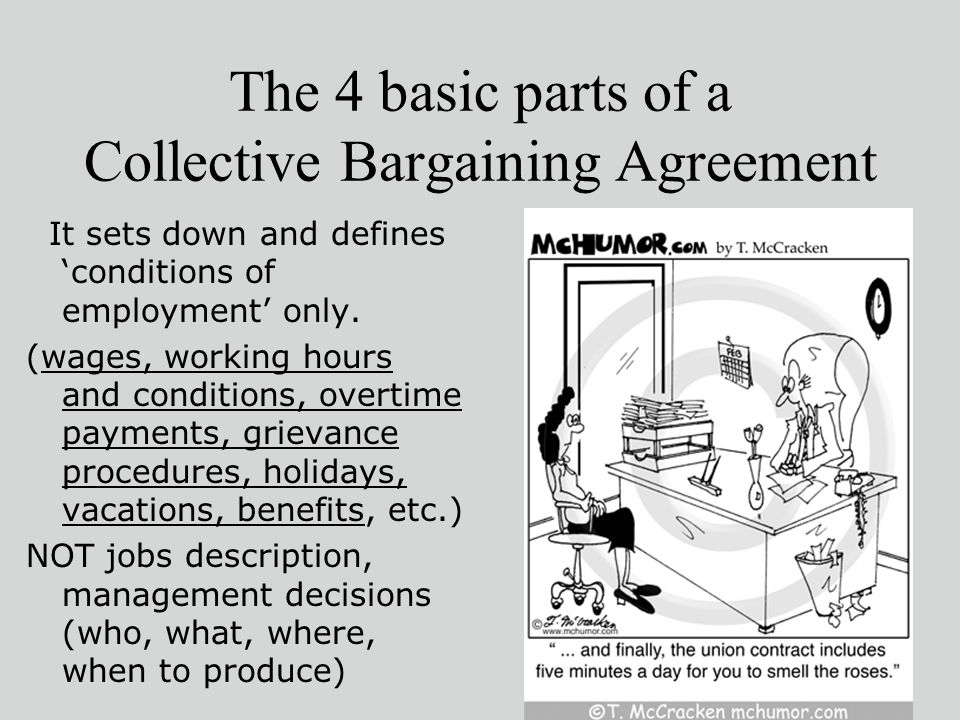 Union Collective Bargaining Agreements Images Agreement Letter Format
