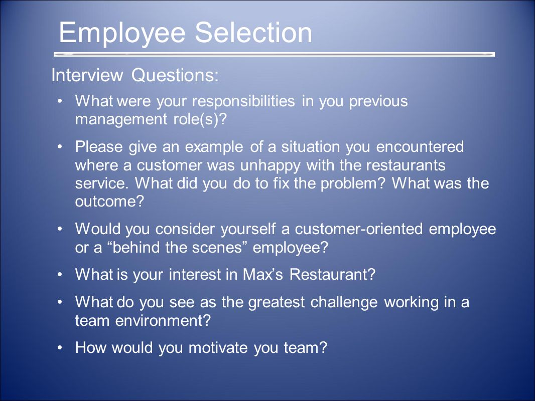 employee selection and legal advice Introduction : employee testing and selection 1  – legal obligation • it's important because of two of legal  advice all new job applicants of.