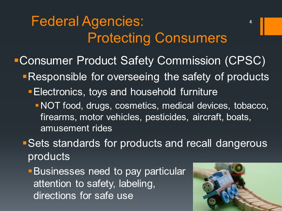 Federal Agencies: Protecting Consumers