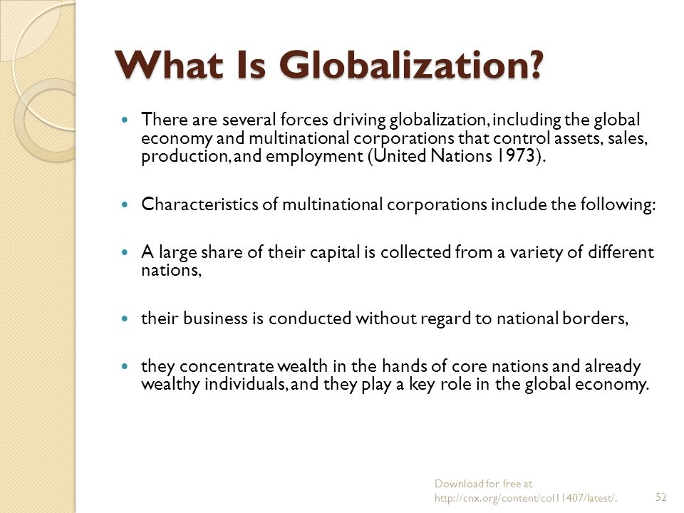 how global corporations affect national economies An undergraduate essay providing a detailed analysis of the effects of multi national corporations (mnc) on developing countries  global industrial output .
