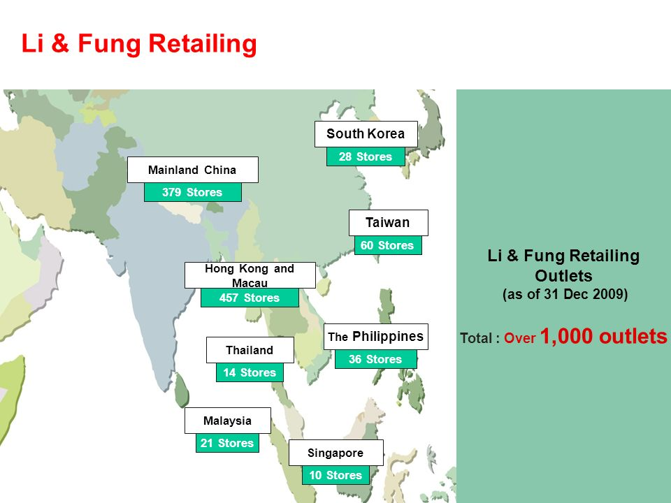 li and fung Li & fung is a hong kong-based global trading group, that supplies high-volume, time-sensitive consumer goods, and is a major customer of global retail giant, wal-mart garments make up around two .