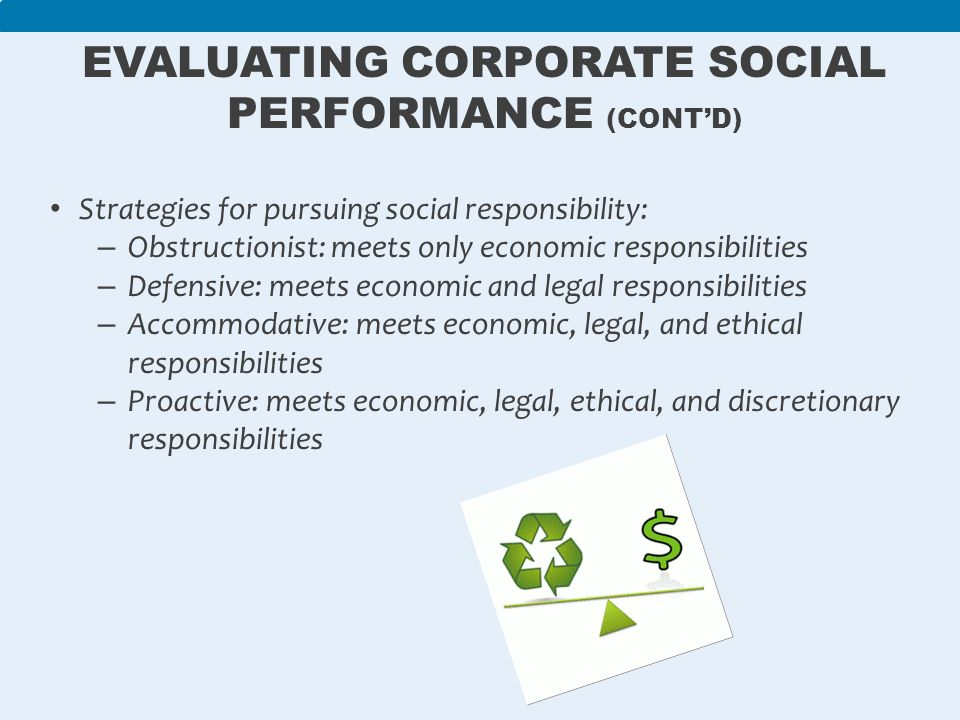 discretionary responsibility In the pyramid of corporate social responsibility (csr), discretionary responsibility (also known as philanthropic responsibility) is the highest level of expectation that society has of an organization at a given point of time after economic, leg.