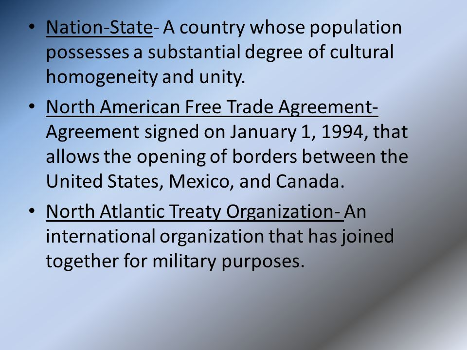 a comparison of the united nations and the north atlantic treaty organization World military expenditures  (north atlantic treaty organization)  the united nations or the organization for security and co-operation in.