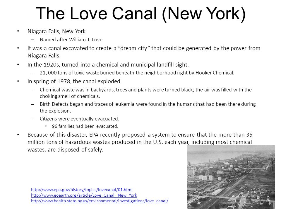 The Love Canal (New York)