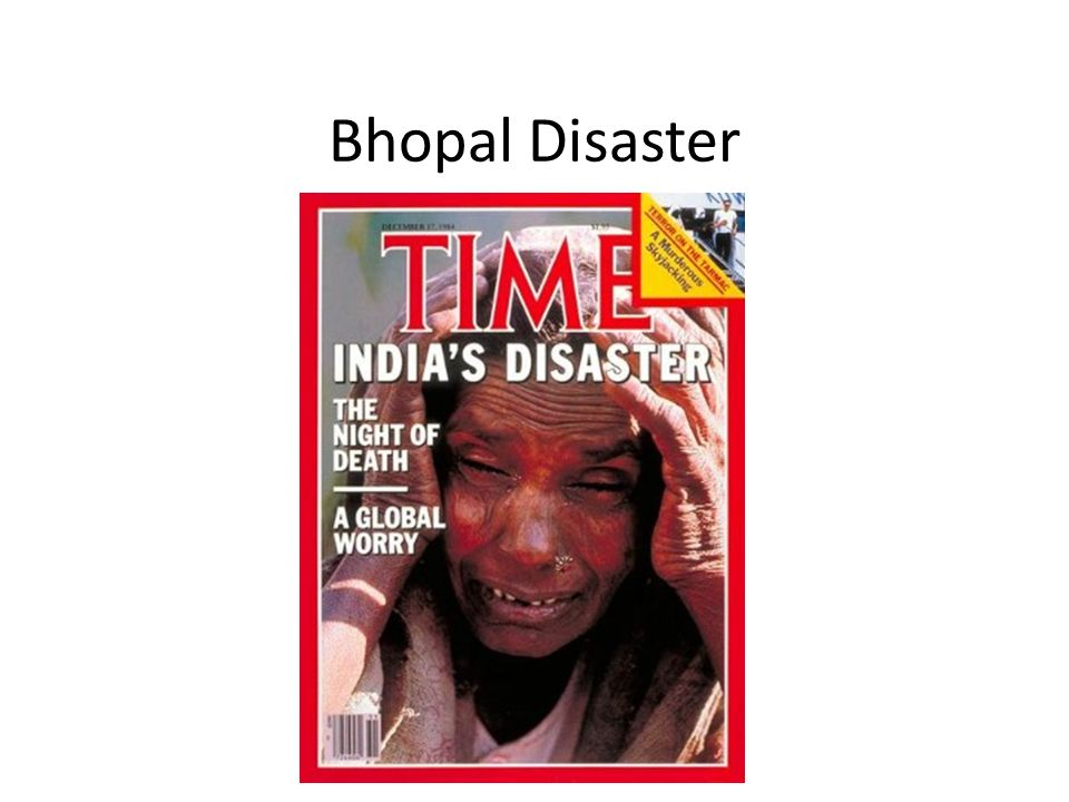 Bhopal Disaster José Corte-Real