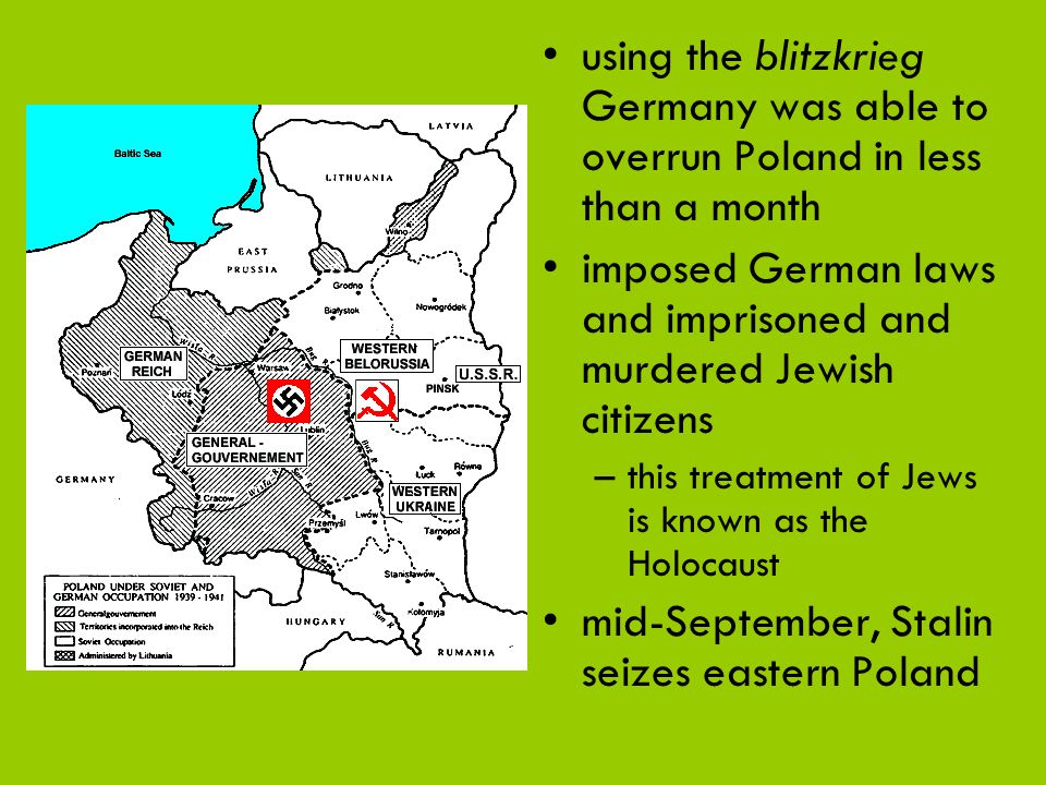 imposed German laws and imprisoned and murdered Jewish citizens