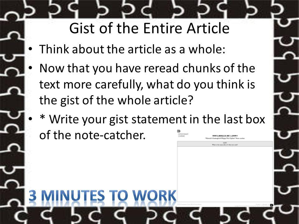 GRADE 5, MODULE 2A: UNIT 1, LESSON 4 - ppt download
