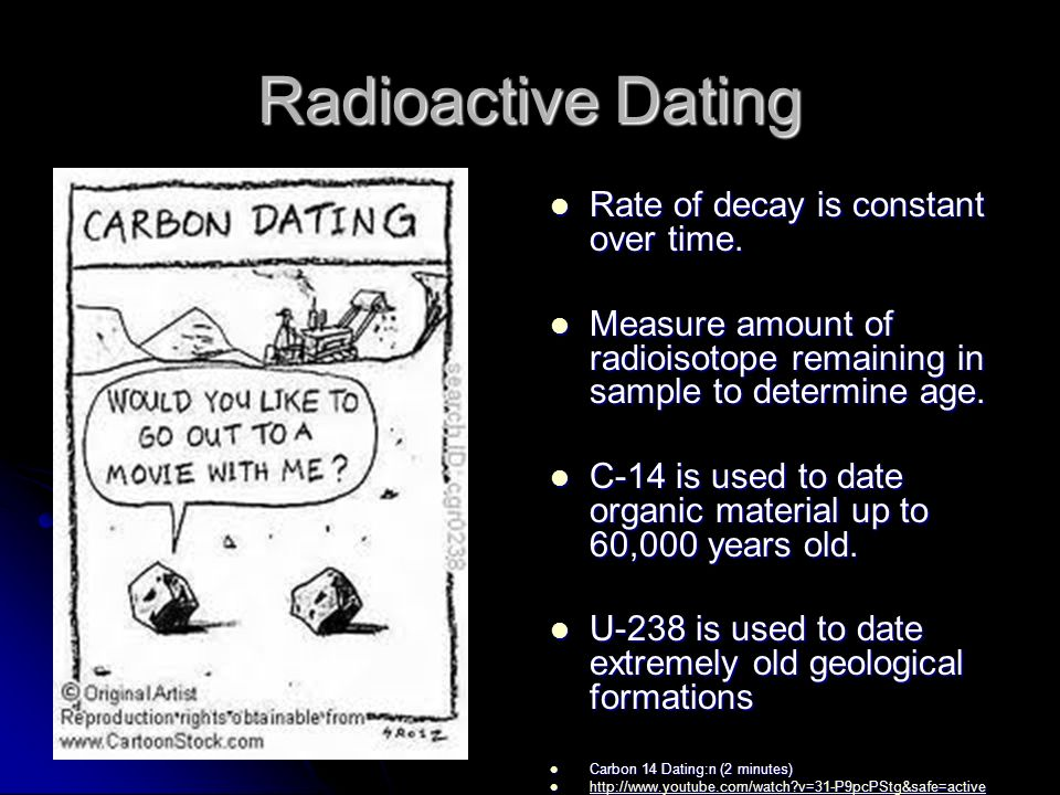 radiometric dating constant