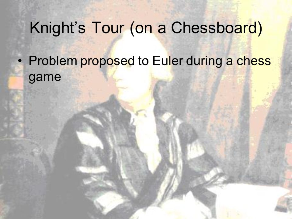 Tours On A Chessboard Problem