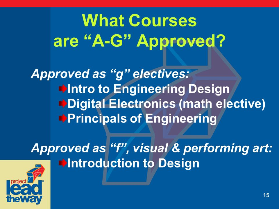 A-g approved courses