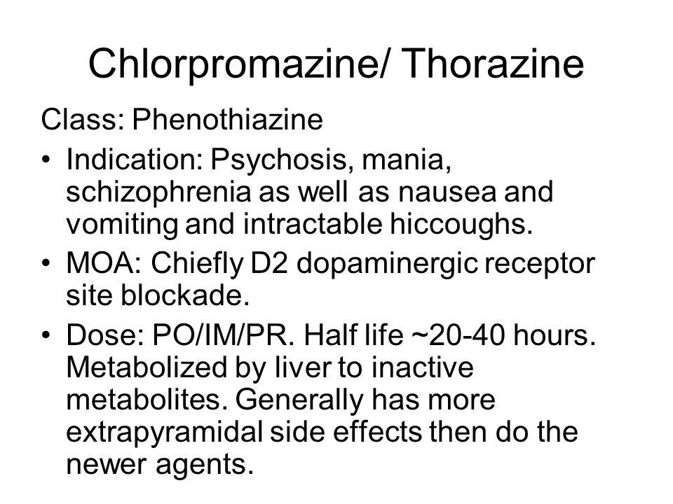 Thorazine Side Effects Wiki