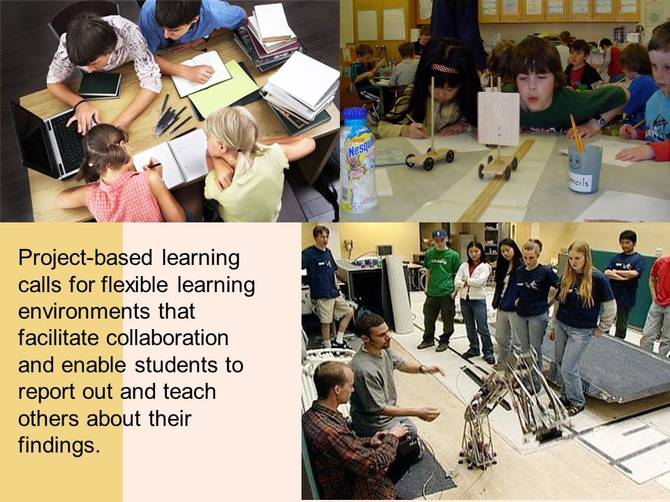 project based learning Knowledge, scaffolding learners and providing multiple forms of assessment (eg hoover & taylor, 1998) though similar in structure to the project -based.