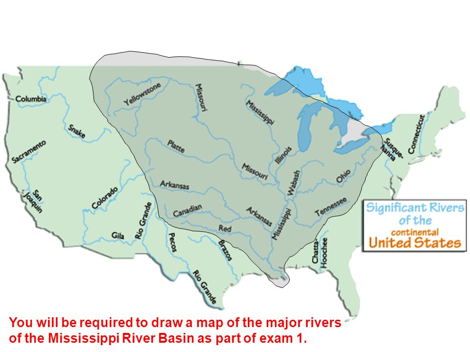 map of us states showing mississippi river - 28 images - 90 best ...