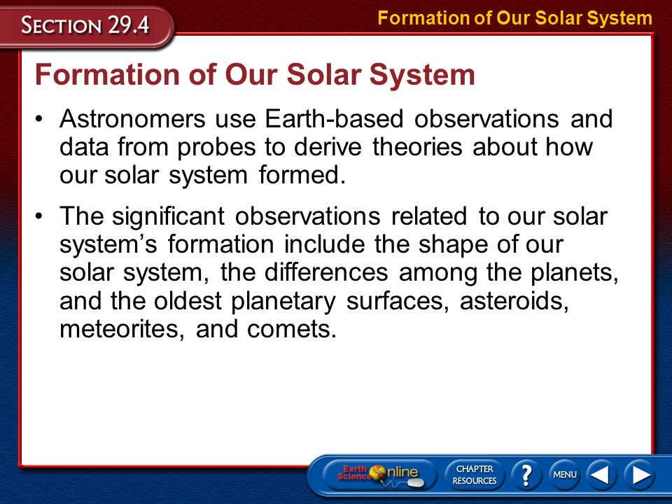 of our solar system formation theories - photo #33