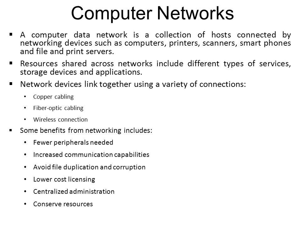 Chapter 8 Fundamental Networks Ppt Download