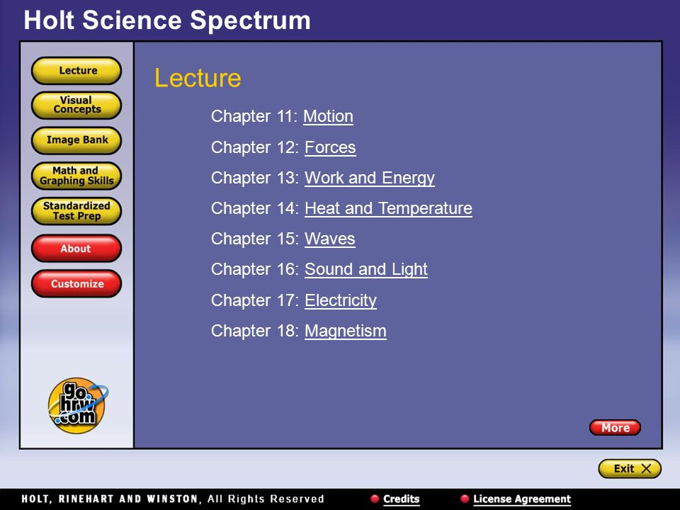 Lecture Chapter 1: Introduction to Science Chapter 2 ...