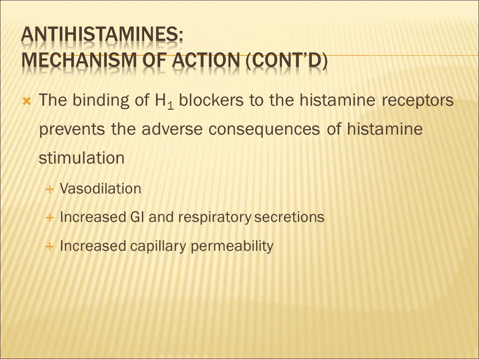 sedating antihistamines mechanism of action Mechanism first generation these images are a random sampling from a bing search on the term sedating antihistamine a type of drug that blocks the action of.
