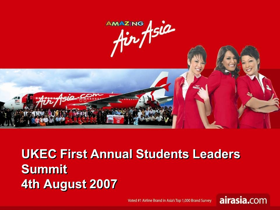 Air Asia Introduction