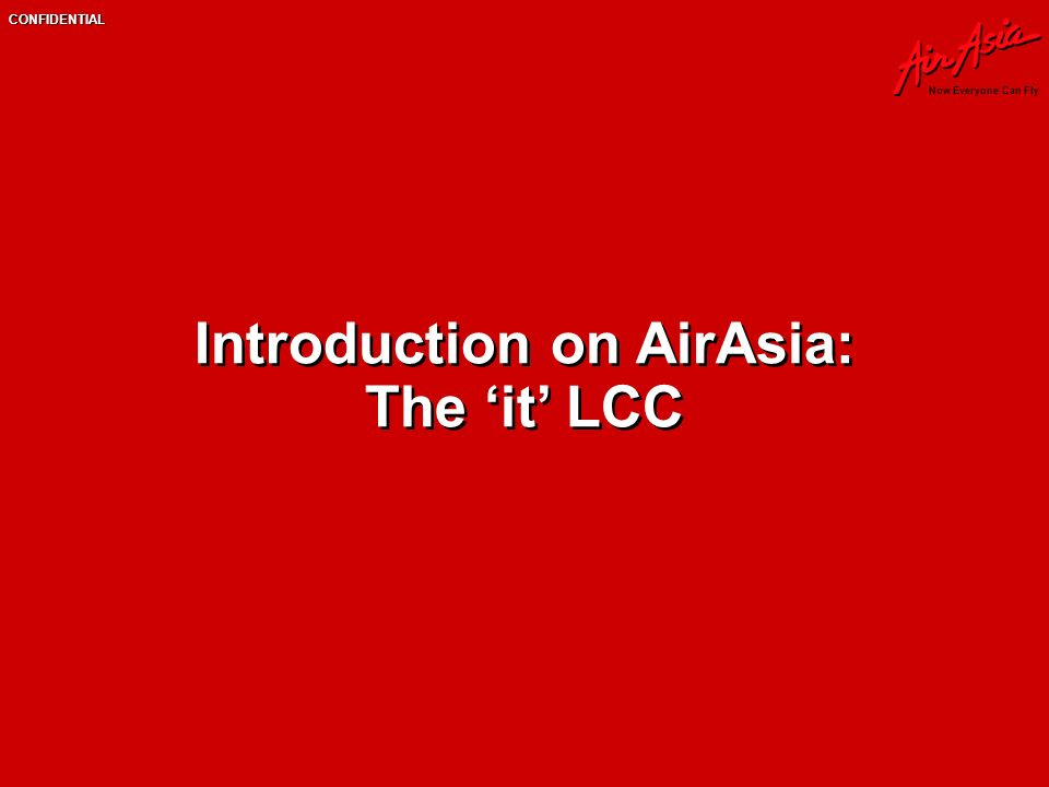 introduction to airasia Get the bigger picture about airasia as you read our reports, review our financial statistics, or study how our markets have developed and made us the world's best low-cost airline.