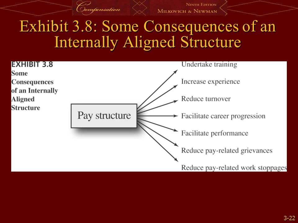 a pay model and defining internal alignment essay (1) internal alignment—refers to comparisons among jobs or skill levels inside a single organization pay for different jobs in the organization should reflect the relative similarities and differences in content of work or skills required for the job as well as the differences in the relative contribution of the work or skills to the overall.