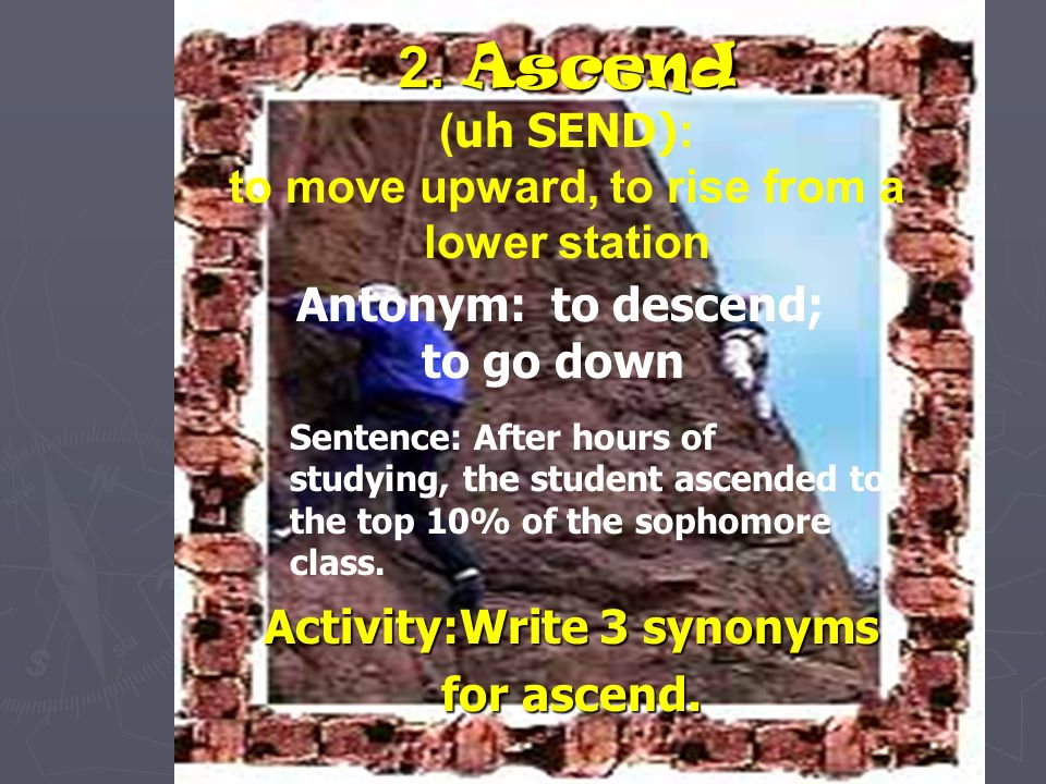 Ascetic Sentence Examples