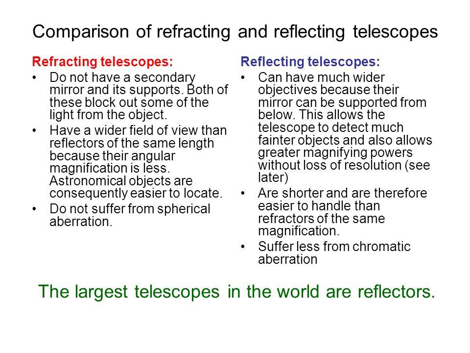reflecting and refracting telescopes Telescopes computerized telescope ota's refracting telescopes achromat apo/ed reflecting telescopes dobsonian telescopes catadioptric telescopes sct.