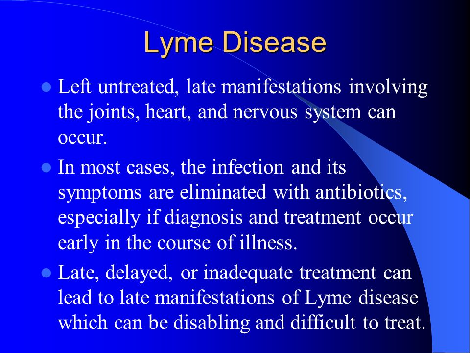 What Are the Treatments for Lyme Disease?