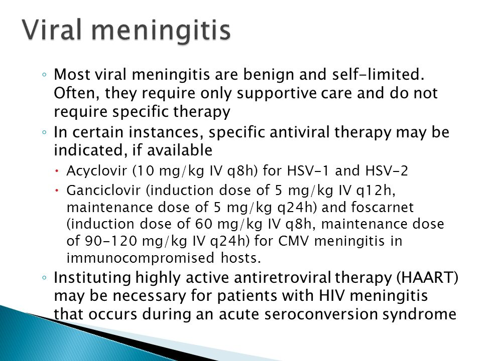 meningitis topic review meningitis bacterial viral fungal