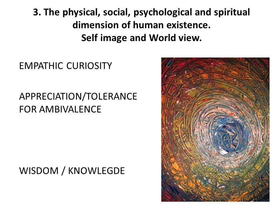 a personal existential view of the world Creating an integrative theoretical approach to counseling  and i naturally gravitate toward existential,  understand how they view the world so that i may.