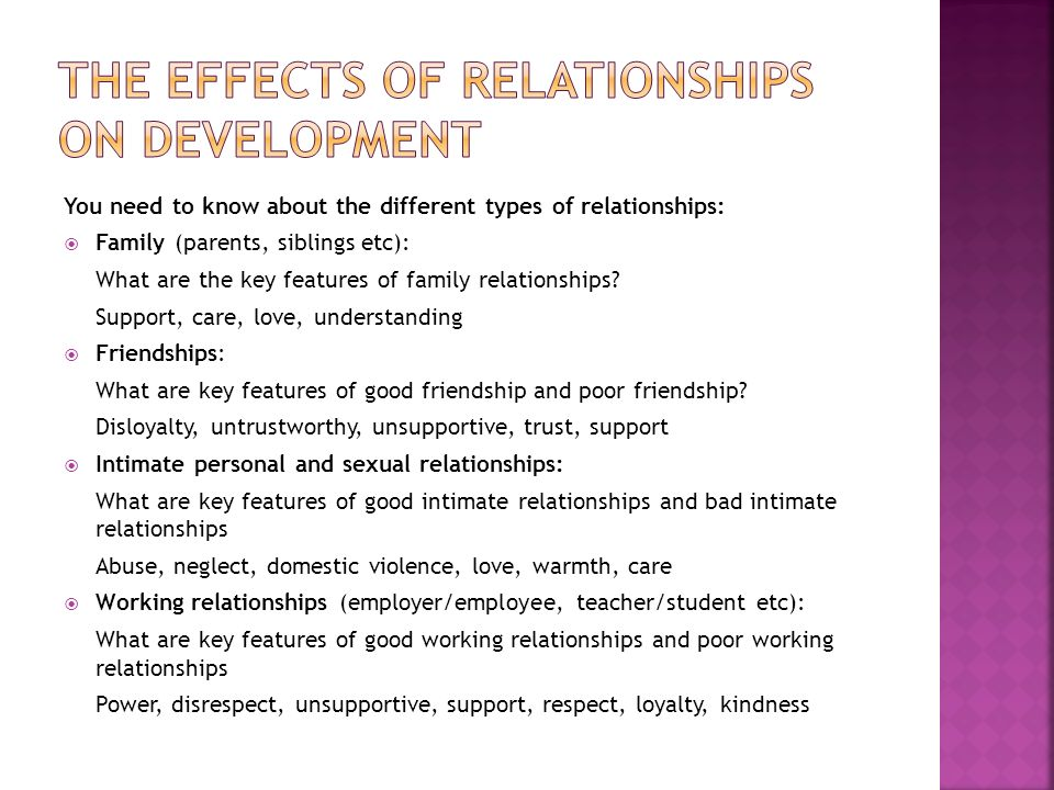 understand working relationships in social care settings 1 understand working relationships in social care settings 11 explain how a working relationship is different from a personal relationship working relationships are based on formal policies and procedures and agreed ways of working.