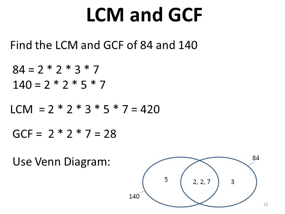 number theory factors  u0026 divisibility lcm and gcf base