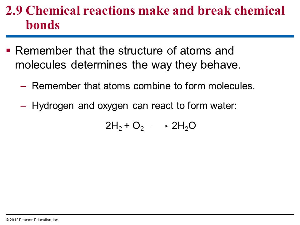 The Chemical Basis of Life - ppt download