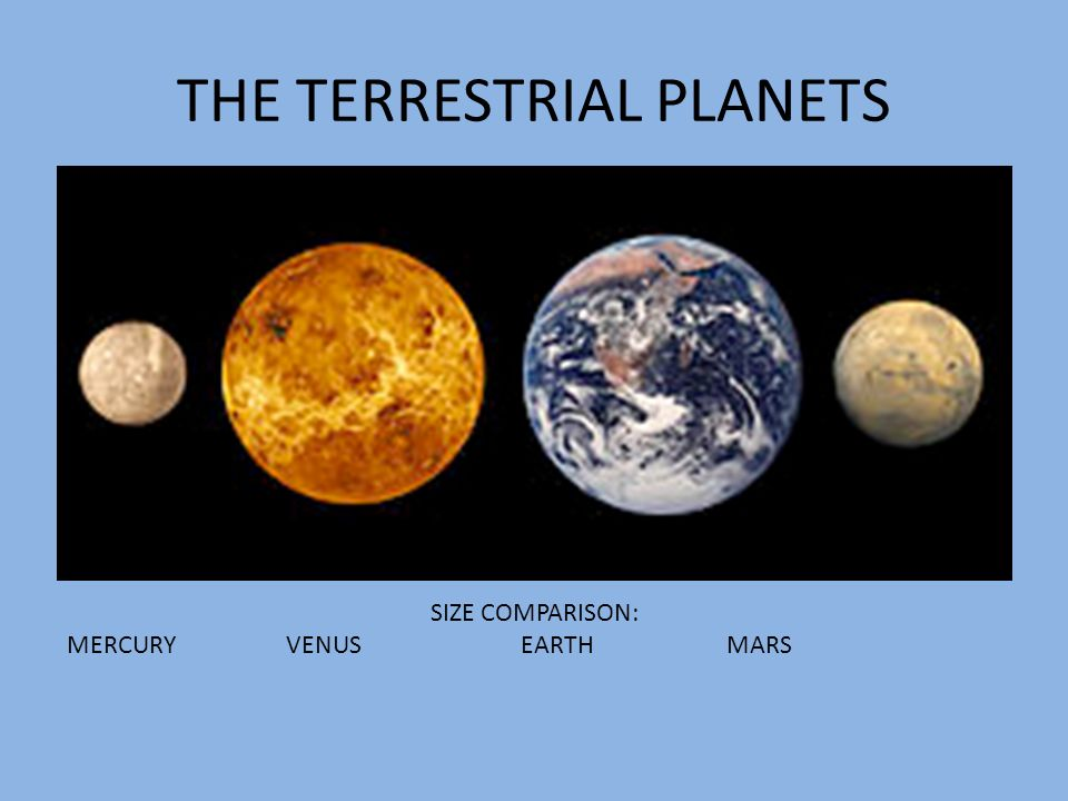 terrestrial planets vs. gas - photo #9