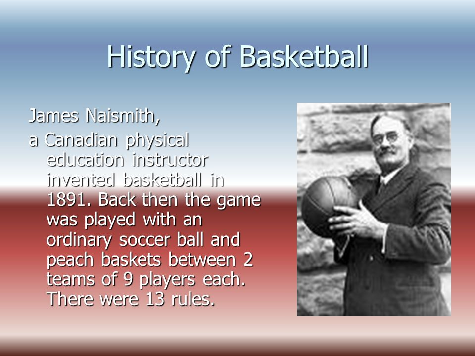 It Is All About Basketball History Of Game: Explanation Short History Set Of Simple Rules