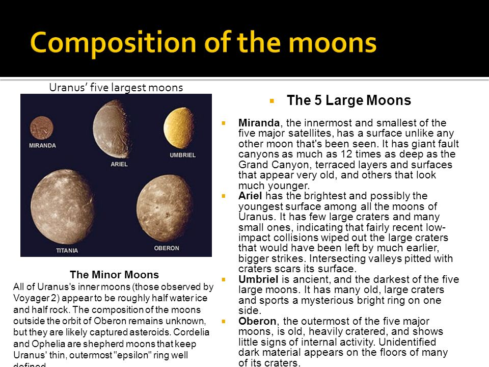 how much moons does uranus have - photo #35