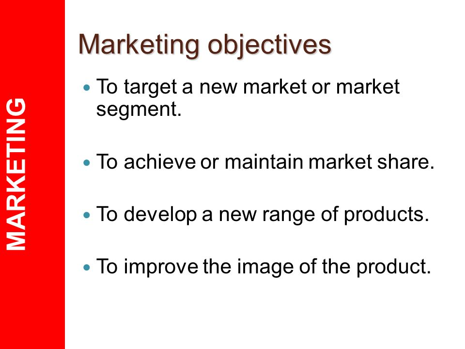 marketing objectives of target corporation Objectives of target corporation the mission statement of target corporation: a third element of the marketing mix is promotion target takes pride in the fact that.