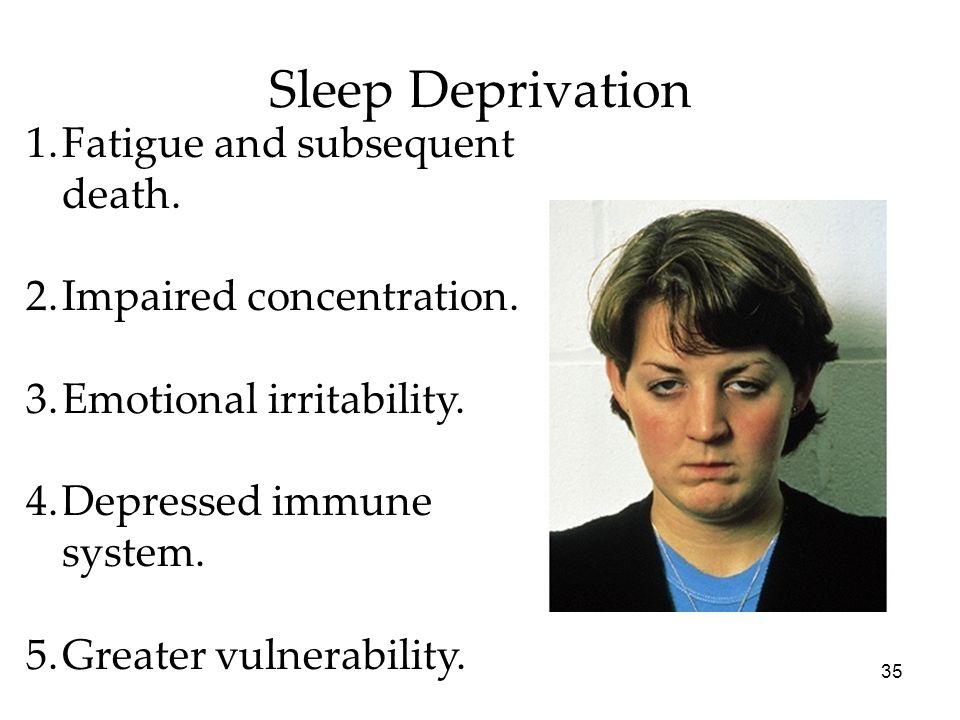 Sleep deprivation sexual emotions