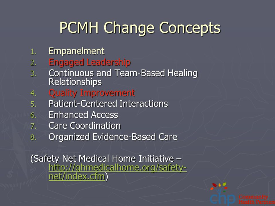 Safety Net Medical Home Initiative Care Coordination