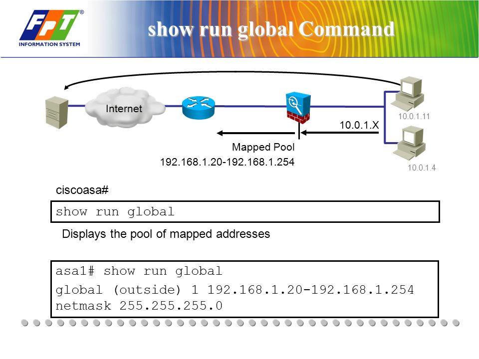 Security cisco firewall training ppt download for Show pool cisco